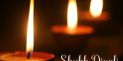 Image of diwali candles